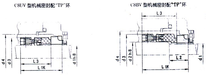 国际精密-C8U/C8B机械密封