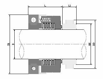 国际精密-WB2/152机械密封