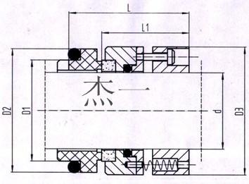 国际精密-105机械密封