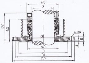 国际精密-釜用204B型机械密封