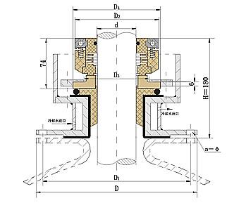 国际精密-釜用212机械密封