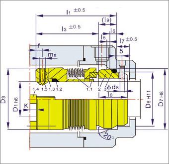 国际精密-MFL WT80金波机械密封